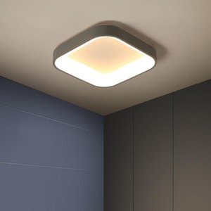 Ceiling Lights Modern Minimalist LED Lamp Living Room Bedroom Hall Home Decoration Metal + Acrylic Lighting