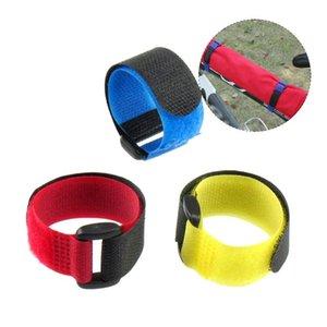 Bike Handlebars &Components Multi Functional Bicycle Fixing Strap Fixed Belt Magic Sticker Cycling Infator Bottle Bandage MTB Supplies