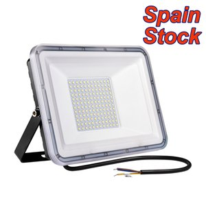 USA STOCK LED Flood Light Floodlight, Security Lights, IP66 Waterproof Outdoor, 6500K Cold Warm White for Yard, Garden, Playground, Basketball Court
