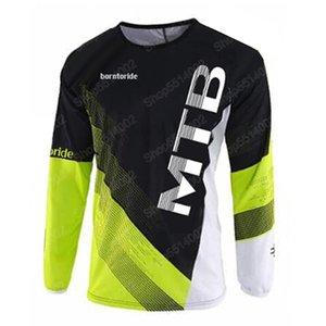 T-Shirt Radfahren Männer Mountainbike Motocross Jersey BMX DH MTB Downhill Tops Sport Racing Kleidung Hemden