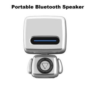 Portable Speakers Creative Robot Bluetooth Speaker Mini Cute Wireless Sound Box Subwoof Remote Control Take Pos