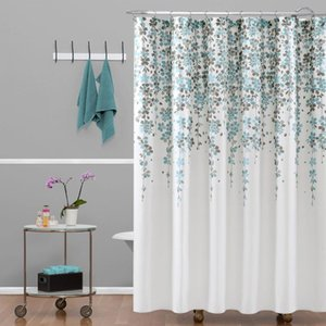 Shower Curtains American Style Custom Design Modern Cute Recycled Elegant 100% Polyester Print Curtain