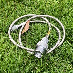 Praktischer Gasumwandler-Lindal-Ventilkanister mit grünem Propangank oder MAPP Gasadapter Outdoor Camping Herd LPG-Mütze 545 x2