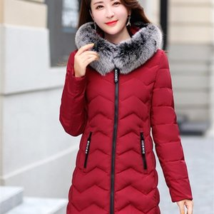Size Winter Women's Plus Real Fur Collar Long Coat Duck Down Jacket Women Coats for 2020 10674 KJ2590