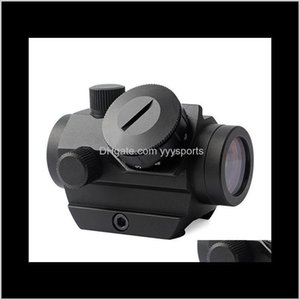 Scopes Accessories Tactical Gear Drop Delivery 2021 T1G Aluminium Alloy Holographic Red Dot Scope Sighting Telescope Lrpxs
