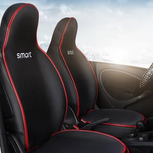 Car Ice Silk Breathable Seat Cushion Cover For Smart 453 451 Fortwo Forfour Interior Styling Accessories Covers