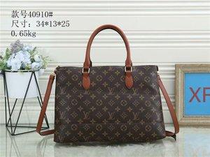 1LVLOUIS VITTONBags Luxurys Bag Women Totes Fashion Bags Vintage Printing Shoulder Classic Crossbody