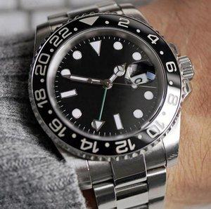 Высококачественные создания мужские часы складной браслет Trend Night Blearing Dial Sapphire стекло свободно вращающиеся керамические рамки автоматическое движение романтические знакомства мужские часы