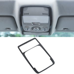 For Audi Q5 8R 2012-2016 Car Accessories Roof Reading Light Cover Sticker Lamp Frame Trim ABS Carbon Interior Decoration