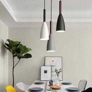 Chandeliers Modern E27 Chandelier Lighting Nordic Dining Pendant Hanging Lamp Minimalist Light For Kitchen Bar Room Luminaire