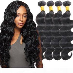 8A Mink Brazilian Virgin Hair Bundles Body Wave 5 Pcs lot Brazilian Unprocessed Human Hair Peruvian Malaysian Indian Body Wave Bundles Weave