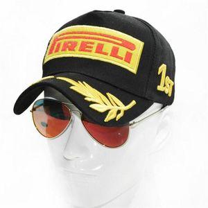 2021 snapback سباق قبعة بيسبول كاب أسود F1 نمط القبعات للرجال سيارة دراجة نارية سباق casquette الرياضة أبي قبعة