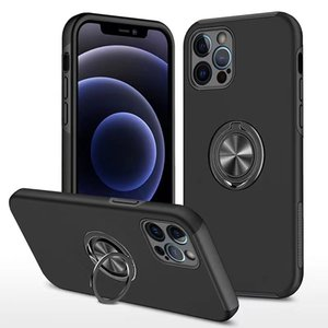 Kickstand Cases invisble ring holder car Magnetic For Samsung A10S A20S A20 A30 A30S A32 A21S A02S S21ULTRA S21 A72 TPU+PC With oppbags