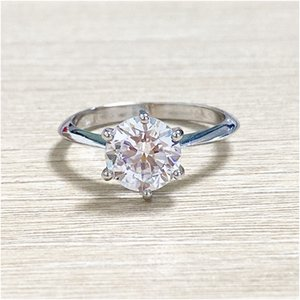 Romantic Promise Wedding Ring Zircon Crown Engagement Ring Finger Jewelry for women