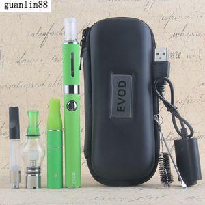 Vape Dab Pens eVod Vaporizer 4 in 1 Starter Kits Dry Herb Wax Oil Vapes 510 Thread USB Passthrough CE3 Vape Cartridges Kit