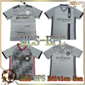 8 개의 특별 블랙 아웃 미국 축구 유니폼 팀 키트 BPC 한정판 회색 축구 셔츠 Toronto Atlanta Portland MLS 21 22