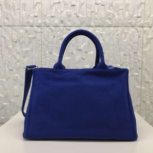 Design luxury handbag Luxury 2020 canvas escale billetera de diseador book tote pra Deep Blue beach boite Letter Thread fashion handbag top handle bag