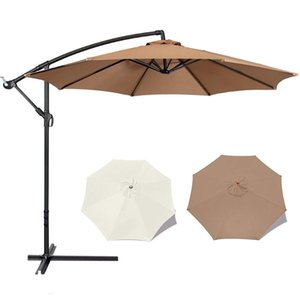 Shade Breathable Sunshade Umbrellas Cloth Without Bracket Deck Patio Pool Parasol Fabric UV Protection Sunscreen Sail