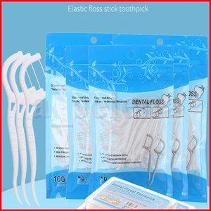 50 قطع 100 قطع المتاح طب الأسنان flosser بين الأسنان فرشاة الأسنان عصا مسواك الخيط اختيار الفم اللثة تنظيف الأسنان الرعاية