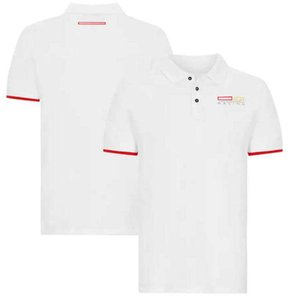 F1 team racing short-sleeved T-shirt, polyester quick-drying, downhill jersey for fans, same style customization