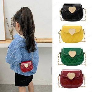 Girls Mini Purses Cute Crossbody Bag Kawaii Kids Small Coin Wallet Pouch Baby Girl Heart Party Purse Handbag Gift