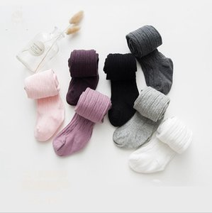 Baby Leggings Cotton Children Dance Socks Pants Solid Baby Girl Pants Stretch Tights Infant Toddler Kid Clothes 8 Colors DW6015