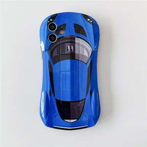 Small sports car mobile phone protective case For Huawei P30 P30PRO P40 P40PRO mate30 mate30pro nova8 nova8pro mate40 mate40pro