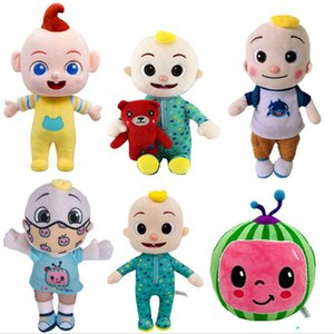 All Style 15-26cm Cocomelon toys Plush without music Cartoon Tv Series Family Jj Sister Brother Mom And Dad Toy Dall Kids Gift Stuffed doll
