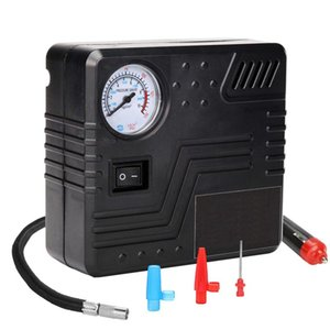 Inflatable Pump Portable Air Compressor 150 Psi-Dc 12V Auto Tire Inflator Gauge Car With Analog Display,Te-0D