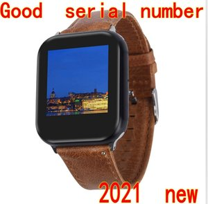 1.78 inch Real Full Screen 44mm Smart Watch Z6 Series 6 GPS Bluetooth 4.0 Wireless Charging MTK2503C Rotate Button Full-Time Detection Heart Rate Blood Pressure