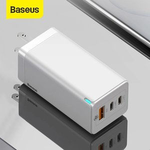 Baseus 65W GaN Charger USB Fast QC 4.0 PD3.0 For iPhone 12 11 Samsung Huawei Xiaomi Phone Charger type c Quick