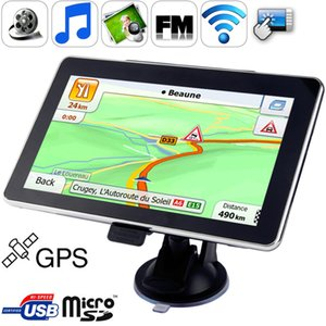 wtyd for 70 inch TFT Touch-screen Car GPS Navigator Built in 4GB Memory Touch Pen Voice Broadcast FM Radio function Built-in speaker Resol