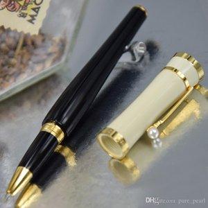 PPM Mesdames Special Greta Garbo Édition limitée avec Numéro de série Clip de luxe avec stylo à boule de rouleau de perles mignonne + recharges cadeaux + pochette en peluche cadeau