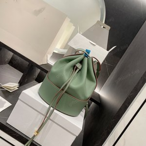 2021 luxury designer top backpack bucket bag handbag fashion high quality leather zipper outerbag solid color