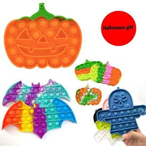 Halloween gift Party Fidget Toys pumpkin Ghost Helps Relieve Increase Soft Squeeze Favors Decompression Toy festivesl HWB10148