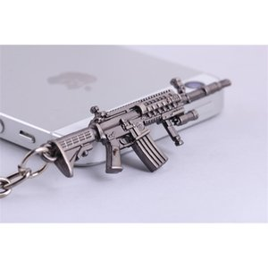 keychains Around game through the line of fire small model CF weapon key chain pendant dm1158