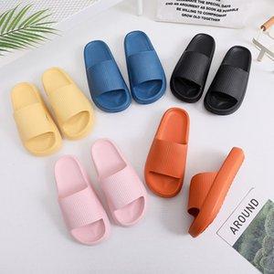 H женские тапочки скользкие сандалии EVA пластиковые мужские тапочки мягкие хлебные Обувь дышащая пена размеры обуви 35-45