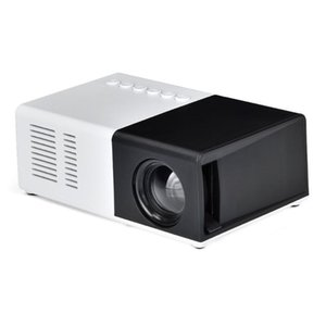 Mini Projector Household Full LED Support AV CVBS -compatible USB Multimedia Interfaces Beamer Home Theatre System