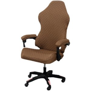 Internet Cafes Gaming Chair Cover Office Elastic Armchair Seat Covers For Game Hall Computer Chairs Cases Jacquard