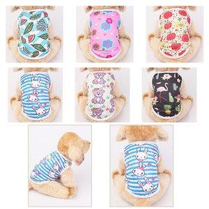 Fábrica Nuevo perro chaleco de verano PET fino impreso Fadou Teddy