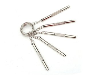 2021 portátil 3 in1 telefone móvel relógio de óculos mini kit de chave de fenda multifuncional kit de reparação de keyring casa ferramenta de reparo prático