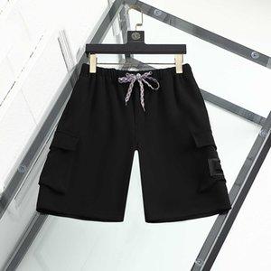 Mens Shorts luxury designer sport summer short fashion brand trend pure cotton breathable short-clothing lapel B01