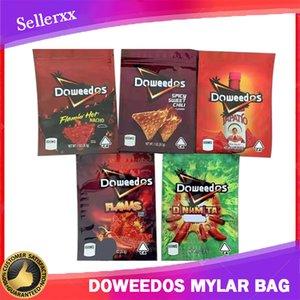 Сумки упаковки узормемонные видимы пустые Doweedos Capato Chips 600 мг упаковки сумка фламин начо пряный сладкий Chili Chip Mylar