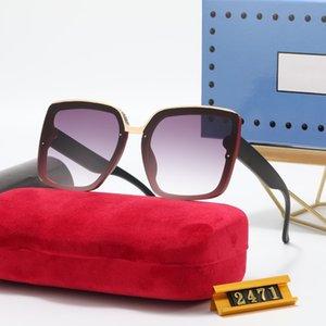 Luxury New Brand Polarized Sunglasses Men Women Pilot Sun-glasses UV400 Eyewear Glasses Metal Frame Polaroid Lens