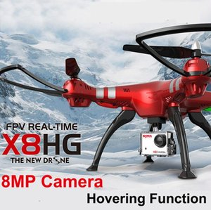 Syma X8HG Wifi FPV With 1080P 8MP Camera High Hold Mode 2.4G 4CH 6Axis RC Quadcopter RTF,Automatic Air Pressure X8HW Drones