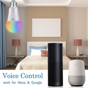 Bulbs 7W E26 E27 WiFi RGBW Smart Light Bulb Multi-functional Classic Practical APP Control LED Lamp Work With Google Home