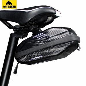 Road Cycling Bicycle Bag Rear Waterproof Bike Saddle Bag Mtb Panniers Sacoche Velo Reflective Accesorios Bicicleta