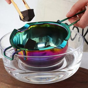 Pans HGHO Multifunction Chocolate Melting Pot Cookware Easy Clean Kitchen Heating Container Milk Bowl Baking Tool Kitchenware