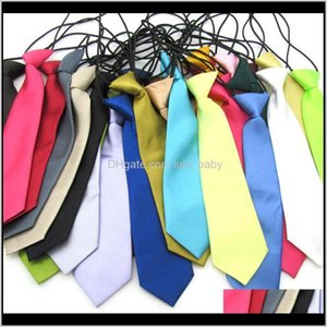 Halloween Christmas Ties Fashion Candy Party Dress Up Children Neck Tie 26 Colors 2765Cm C6 Nzol7 Oa0Er