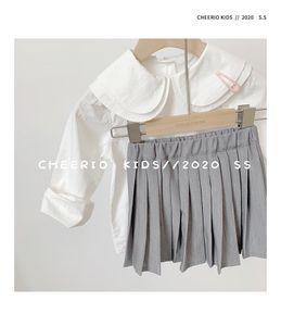 Girls Pleated Skirt 2021 Spring Children's Clothing Toddler Girl College Wind Wild Kids Tutu 1-7Y Skirts